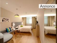 Et soveværelse.